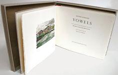 Vowels ~ Arthur Rimbaud Color Woodcut Prints by Henri Cartier-Bresson $1900