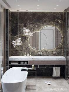 Masculine Bathroom Interior Design Elegant Bathroom Luxury Masculine Bathroom Design Bathrooms – Most Popular Modern Bathroom Design Ideas for 2019 Modern Bathroom Mirrors, Bathroom Layout, Bathroom Ideas, Modern Bathrooms, Boho Bathroom, Bathroom Designs, Boutique Bathroom, Mirror Bathroom, Small Bathrooms