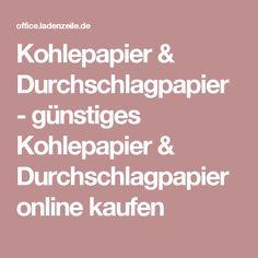 Kohlepapier & Durchschlagpapier - günstiges Kohlepapier & Durchschlagpapier online kaufen