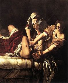 "View ""Judith Slaying Holofernes"" at the Uffizi Gallery by Artemisia Gentileschi, one of the best female painters of the century after Caravaggio. Caravaggio, Baroque Painting, Baroque Art, Large Painting, Woman Painting, Artist Painting, Art Paintings, Watercolor Paintings, Art Du Temps"