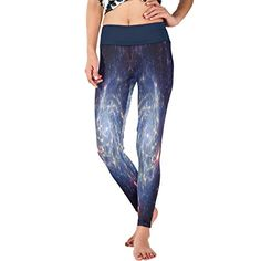 CCBHGY Womens Universe Of Stars Yoga Sport Pants Leggings -- You can find out more details at the link of the image.(This is an Amazon affiliate link and I receive a commission for the sales)
