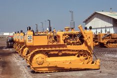 History lined up #CatMachines #ThrowbackThursday