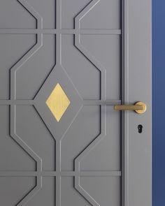 Metal door gate knock knock 49 Ideas for 2019 Door Gate Design, Door Design Interior, Main Door Design, Metal Gate Door, Kitchen Sliding Doors, Art Deco Door, Art Deco Living Room, Door Molding, Moulding