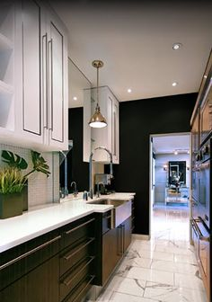 I LOVE a galley kitchen layout: tomas pearce
