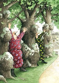 Aunties by Inge Look Altijd verrassend, de prenten van Inge Look uit Finland Wise Women, Old Women, Friends Forever, Best Friends, Old Lady Humor, Old Folks, Young At Heart, Whimsical Art, Beautiful Paintings