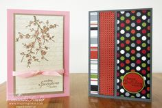 Quick Stampin' Up! cards