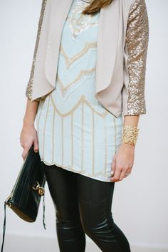 Outfit Post: It�s the Holiday Season� Sparkle @Amanda Gibson
