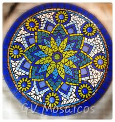 Mosaic Pots, Mosaic Wall, Mosaic Glass, Mosaic Tiles, Mosaics, Stained Glass, Mosaic Crafts, Mosaic Projects, Mosaic Designs