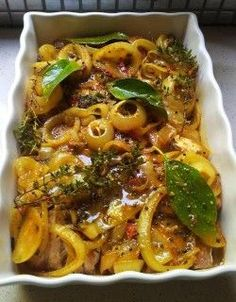 Another Wonderful South African Dish, Pickled Fish! www.chefdewet.co.za