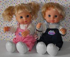 Too Cute Twins Interactive Talking Dolls Boy & Girl  #teamsellit