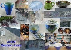 Janine Mannion-Jones will be exhibiting her domestic stoneware