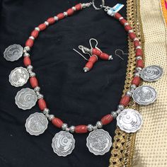 OXD - NN - One Anna Red Stone Necklace