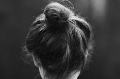 You can never go wrong with a simple bun
