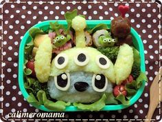 Disney bento ~ Stitch | by Calimeromama