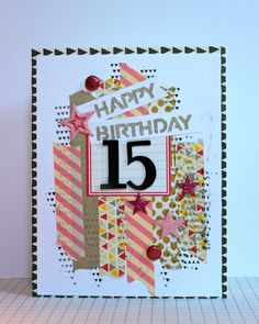 Happy Birthday 15 - Scrapbook.com