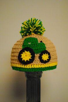 John Deere infant hat