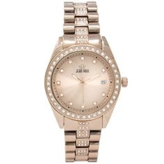 Jean Paul 44mm Rose Gold , Diamond Ice Men's Watch