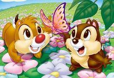 Disney Anime Toys - DAT: Disney Chip & Dale Petit Jigsaw Puzzle By Yanoman - 204 pcs Cute Disney, Baby Disney, Disney Mickey, Disney Art, Disney Movies, Disney Pixar, Disney Images, Disney Pictures, Cartoon Pics