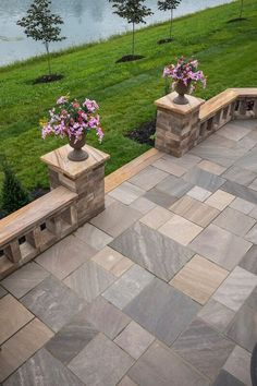 Make your backyard as breathtaking as your view with Cambridge Pavingstones and Amore Tec! Installation: Arley Ramirez