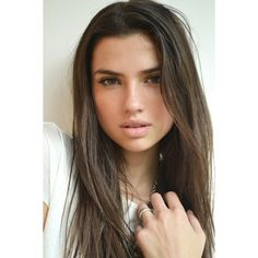 Nicole Harrison ❤ liked on Polyvore featuring people, hair, models, girls and backgrounds