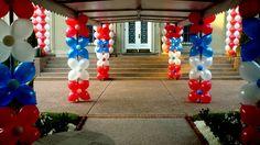 july 4th USA balloons