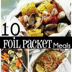 20 foil packet meals
