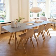 Hay House Copenhagen - I like these interios - Hay House Copenhagen decdesignecasa. Dining Room Design, Dining Area, Dining Table, Sweet Home, George Nelson, Home Fashion, Home And Living, Living Room, Interior Inspiration