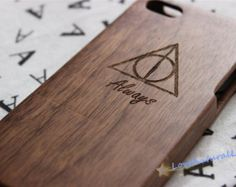 custom Iphone6 case, Deathly Hallows Always iphone6 plus case,wood iphone 6 case, wood iphone 6 plus case,iphone 6 case wood Harry Potter