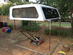 tips for one guy removing/re-installing a camper shell (bed topper) - Ford Truck Enthusiasts Forums Truck Shells, Truck Camper Shells, Truck Bed Camper, Truck Camping, Camper Jacks, Camper Tops, Slide In Camper, Pickup Canopy, Truck Canopy
