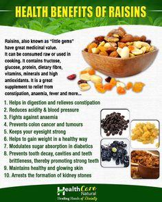 #Healthcare Health Benefits of #Raisins Register at http://www.healthcare-natural.com/Register.aspx