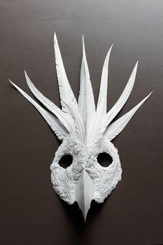 "ANIMALIA,""MaliAzima_FlurrySalk"" | paper-cut-project."