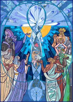 """music of Ainur by breathing2004 Eru is the supreme being, God. Eru is transcendent, and completely outside of and beyond the world. He first created a group of angelic beings, called in Elvish the Ainur, and these holy spirits were co-actors in the creation of the universe through a holy music and chanting called the """"Music of the Ainur"""", or Ainulindall in Elvish."""