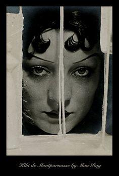 Jevda : KIKI DE MONTPARNASSE by Man Ray , an inspiration for my headband Kiki De Montparnasse