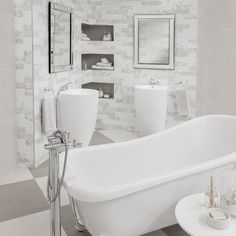 Easy to clean, moisture resistant, and durable – just a few reasons to choose tiles! Visit our Clearwater Tile Africa store to see our offerings. Soft Colors, Colours, Vintage Romance, Bathroom Accessories, Tiles, Africa, Bathtub, House Design, Store