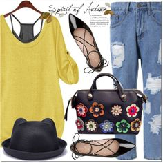 How To Wear Spirit of Autman Outfit Idea 2017 - Fashion Trends Ready To Wear For Plus Size, Curvy Women Over 20, 30, 40, 50