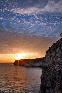 Menorca. El ocaso  Spain