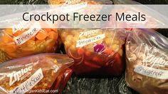 What VeganKids Eat Freezer Meals
