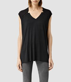 Womens Descent Tank Top by All Saints
