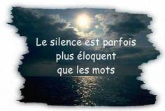 Le silence et les mots
