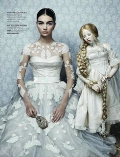 Doll Manipulation// Doll Control/Domination :   User can create, shape and manipulate dolls, puppets, marionettes, etc., shaping and combining them as needed, or moving them with telekinesis.   (Danil Golovkin for Vogue Russia December 2012)
