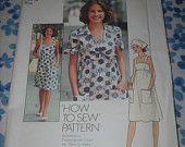 Vintage Simplicity 7292 Pattern - Dress & Jacket - Uncut