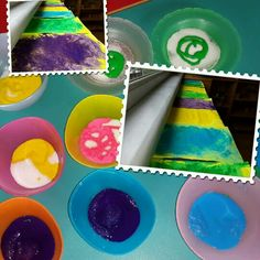 Renkli tuzlar