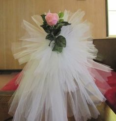 Tulle Pew Bows | Tulle Pew Bow - Easy Tutorial with Photos