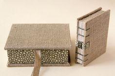 handmade book & box.