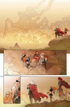 Preview: Thor: God of Thunder #20, Page 2 of 4 - Comic Book Resources