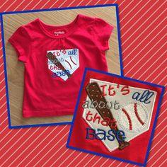 Baseball shirt made for my daughter!