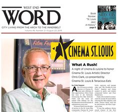 After 20 years as artistic director at Cinema St. Louis and a lifetime of film appreciation, Chris Clark has seen it all. Overseeing five film festivals, Clark and his St Louis Mo, West End, Cinema, Comic Books, History, Film, Words, Movie, Movies
