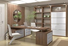 Ideas Medical Office Remodel Interior Design For 2019 Office Design Concepts, Office Table Design, Modern Office Design, Home Office Space, Home Office Desks, Medical Office Design, Medical Office Interior, Executive Office Desk, Clinic Interior Design