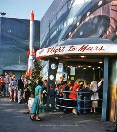 Flight to Mars, Pacific Ocean Park, Santa Monica, 1958