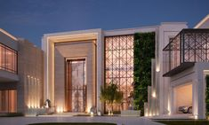 Do you like these luxury houses? Join us now and change your life ! Design Villa Moderne, Modern Villa Design, Classic House Design, House Front Design, Facade Design, Exterior Design, Conception Villa, Future House, Architect House